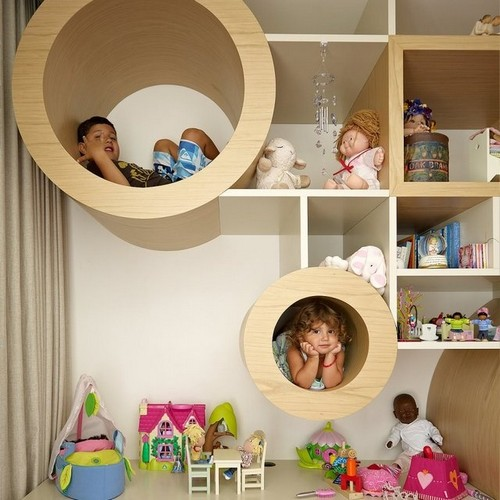 Необычные идеи игровой зоны для детей