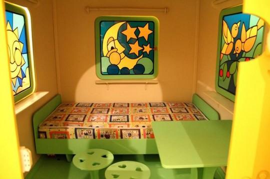 Детские игровые домики внутри фото