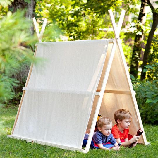 Домик-палатка фото
