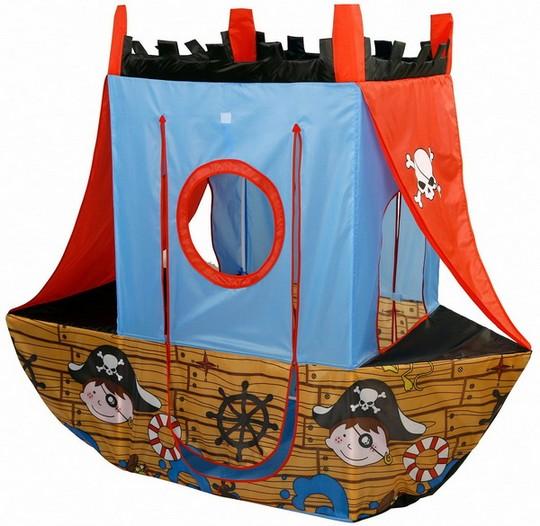 Домик-корабль фото
