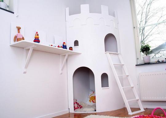 Детский игровой домик-башня