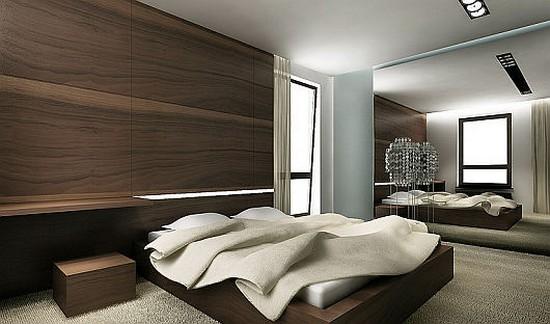 Спальня в стиле контемпорари фото