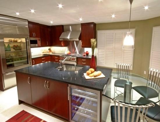 Контемпорари стиль в интерьере кухни
