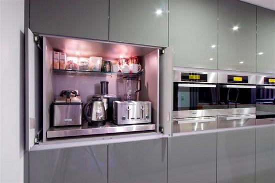 Интерьер кухни в стиле контемпорари