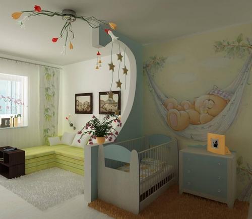 Обои для маленькой детской комнаты фото