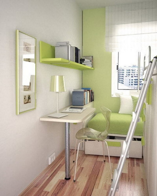 интерьер маленькой детской комнаты фото