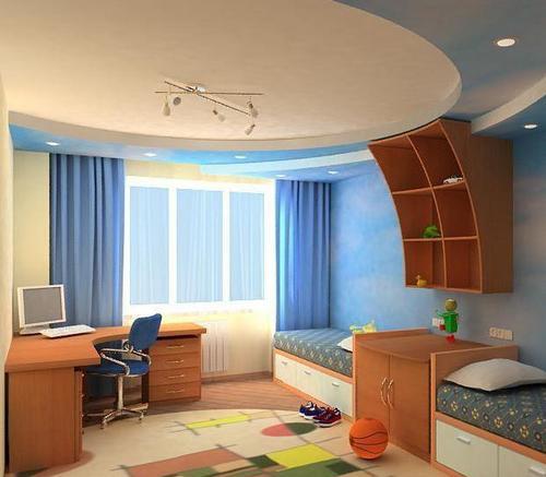 как обустроить детскую маленькую комнату