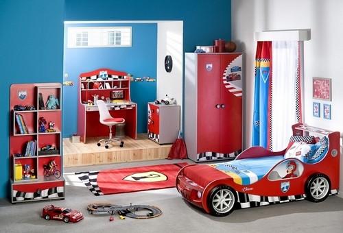маленькая детская комната для мальчика