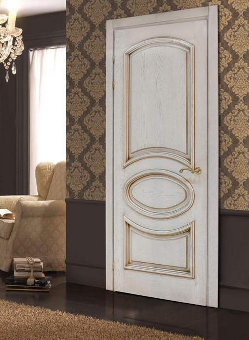 Красивые филенчатые двери фото