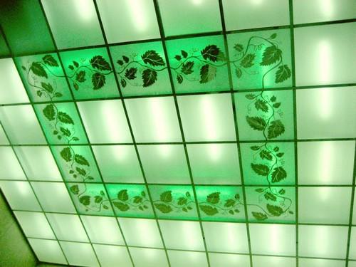 светильники для кассетных потолков