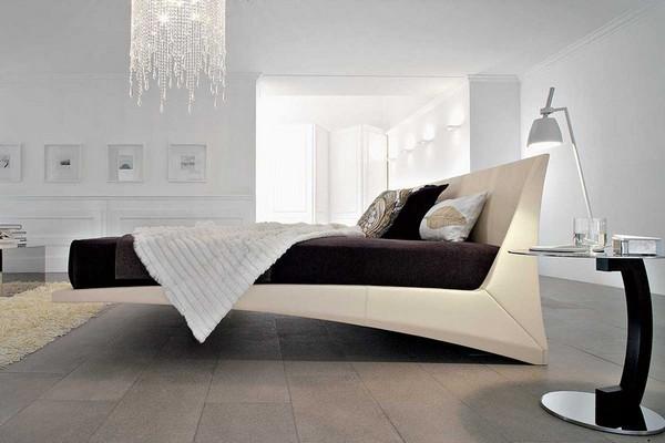 Кровать в стиле хай-тек фото
