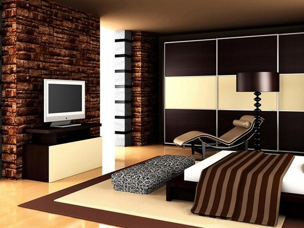 Мебель для спальни в стиле высоких технологий