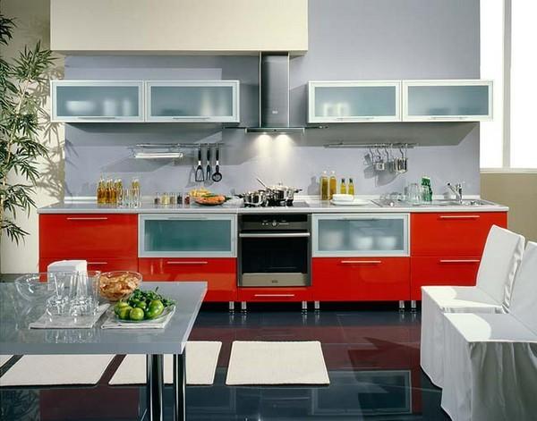 Мебель для кухни хай-тек
