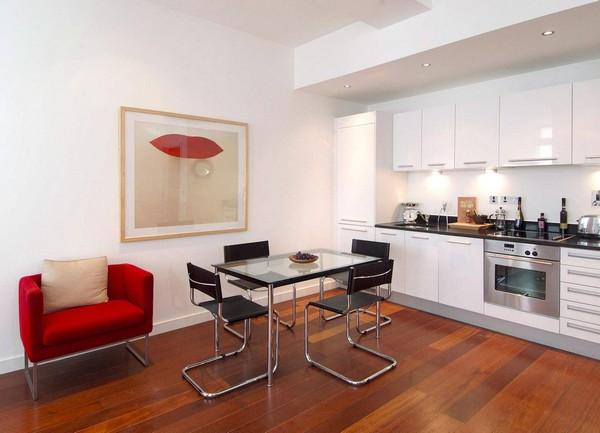 Мебель для кухни хай-тек фото