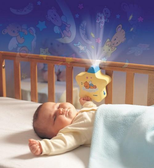 Ночник проектор для новорожденных с музыкой