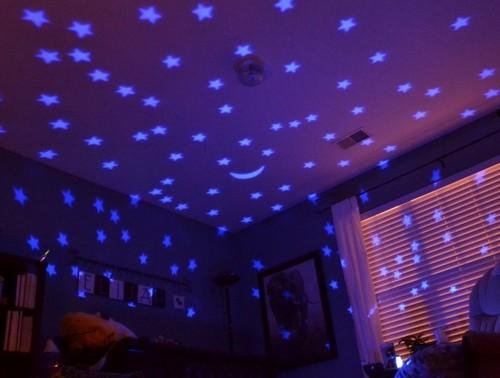 ночник звездное небо детский вращающийся