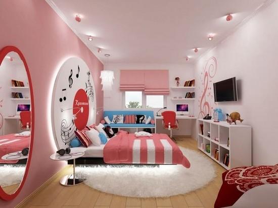 Дизайн комнаты для модницы фото