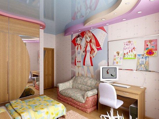Комнаты для модниц дизайн