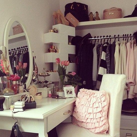 Комната-мечта для каждой модницы
