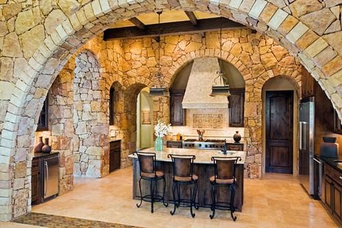 арки из декоративного камня фото
