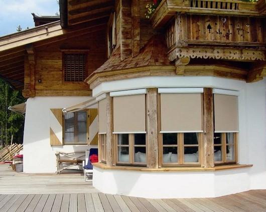 Рулонные шторы для веранды и террасы