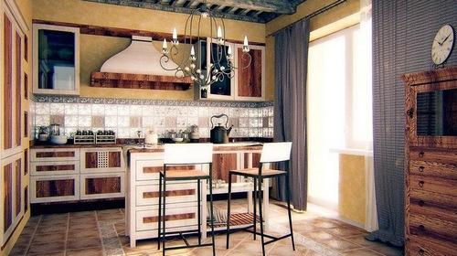 Кухня в стиле гранж