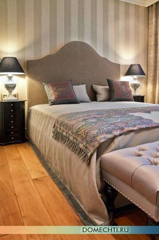 Проект дизайна спальни в стиле прованс