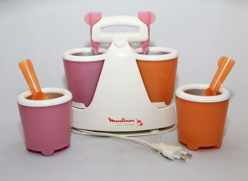 Мороженица Moulinex mini sorbet со стаканчиками