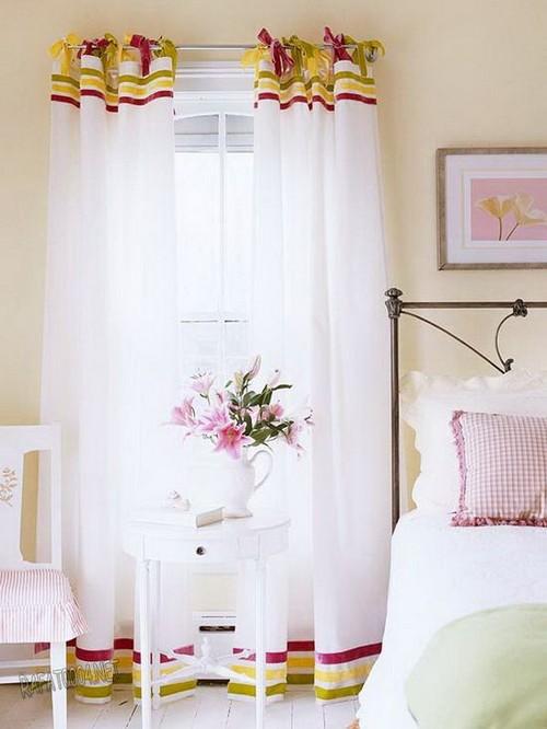 шторы для спальни на петлях