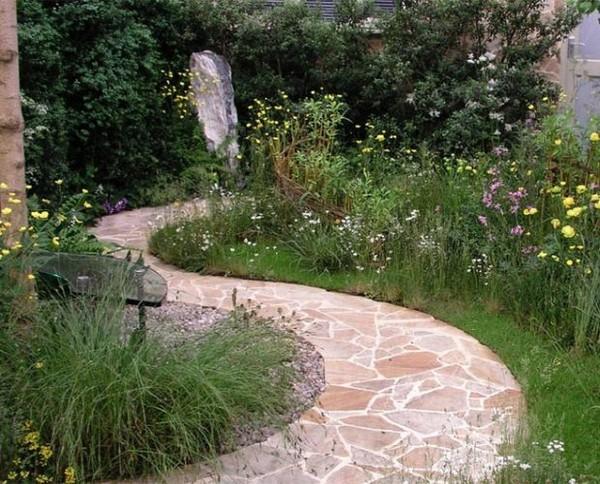 Садовые дорожки из брусчатки