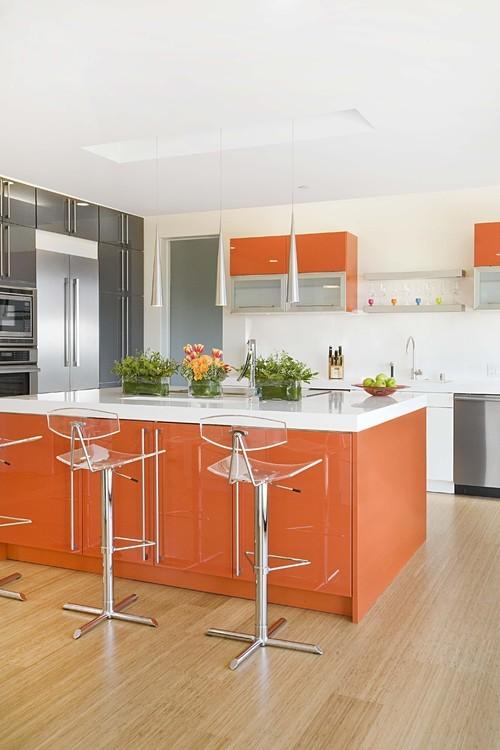 Абрикосовая кухня фото