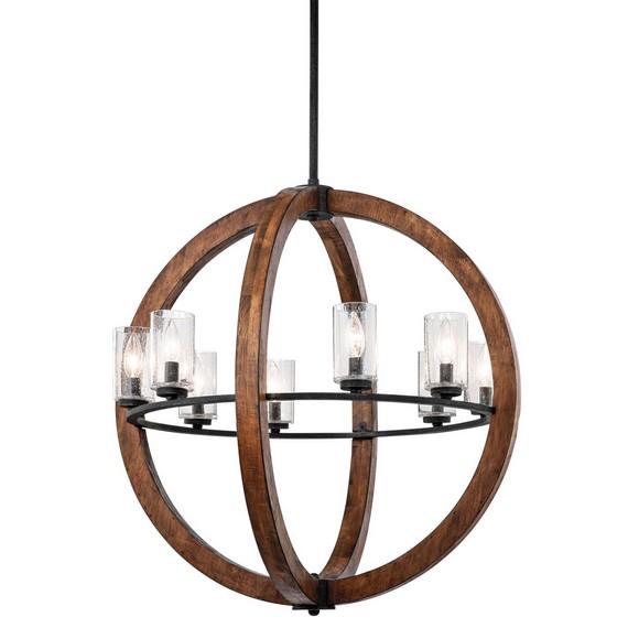 Красивые люстры деревянные подвесные