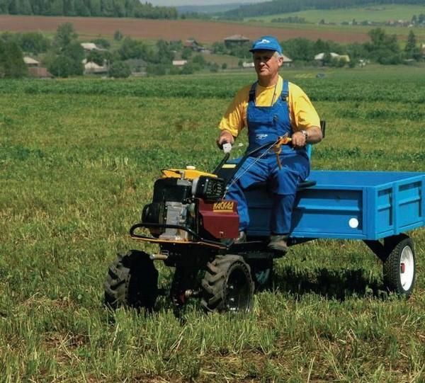 Мини-трактор садовый