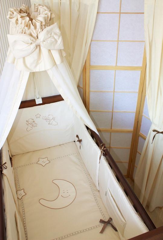 Защита и балдахин на кроватку