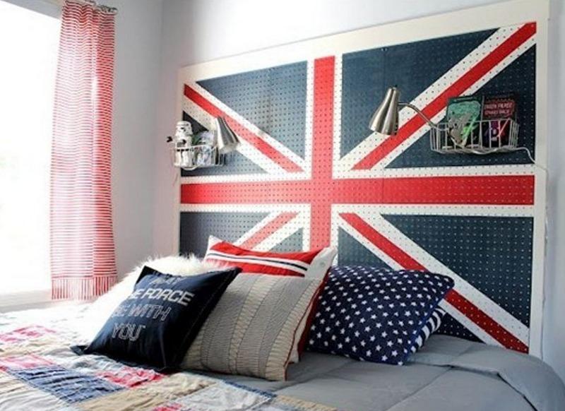 Британский флаг в интерьере