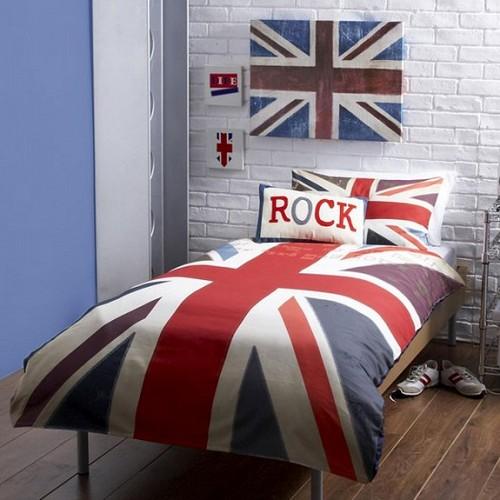 Покрывало британский флаг фото
