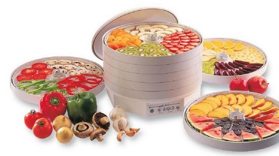 Бытовая сушилка для фруктов, овощей, грибов
