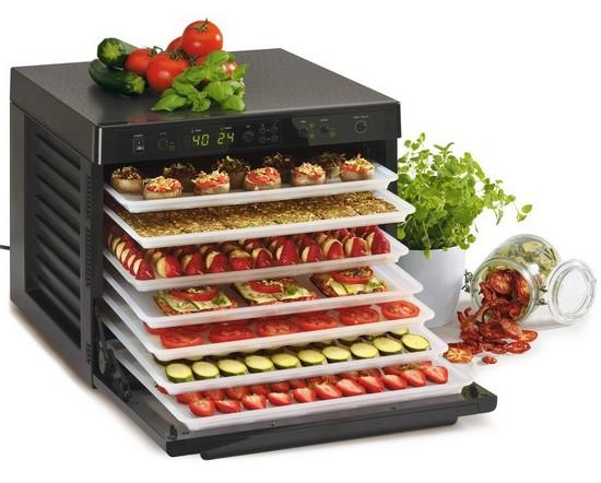 Многоярусная сушилка для овощей, фруктов, ягод и грибов