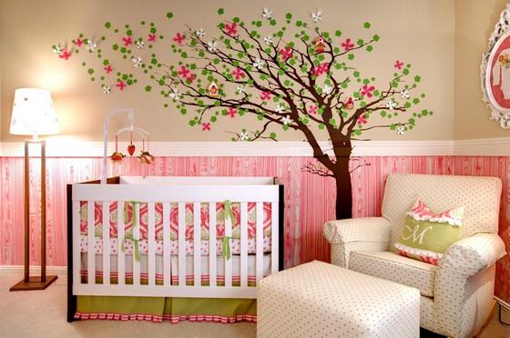 Цветовая гамма детской комнаты по фен-шуй