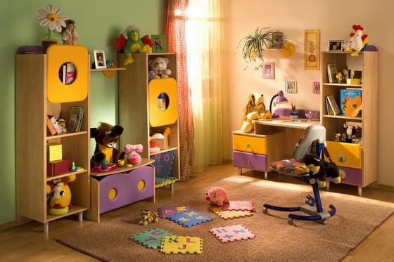 как правильно расставить мебель в детской комнате по фен шуй