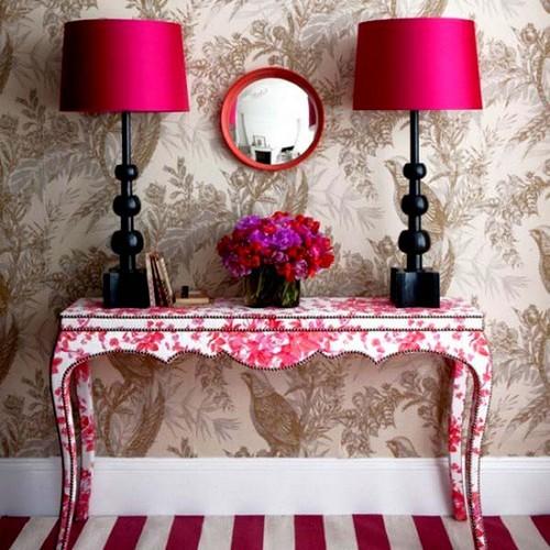 Красивый консольный столик фото