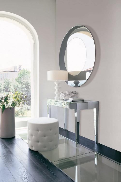 Консольный зеркальный столик
