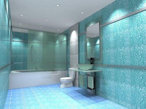 Водостойкие стеклообои для ванной