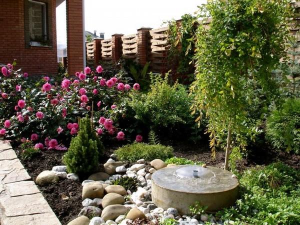 Садовая зона на участке