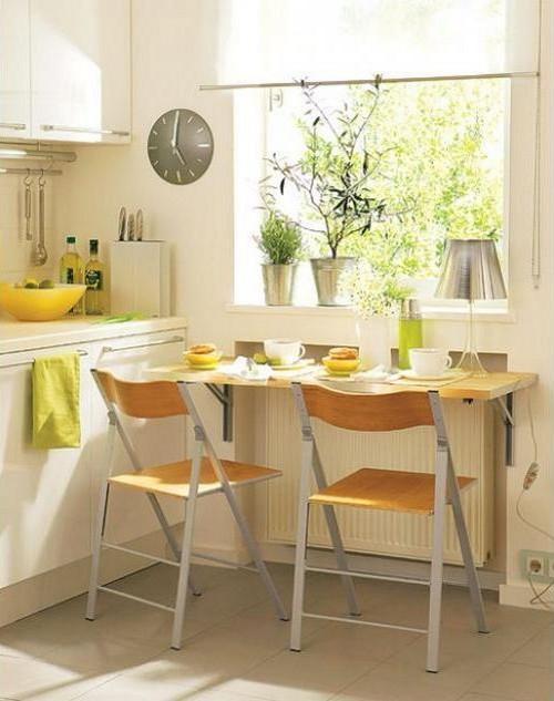 дизайн для маленькой кухни фото