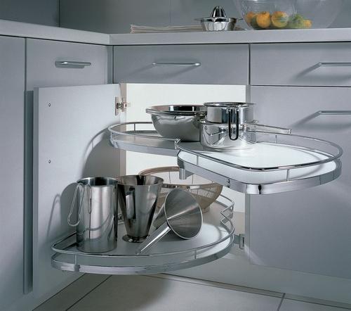 Идеи хранения утвари в небольшой кухне
