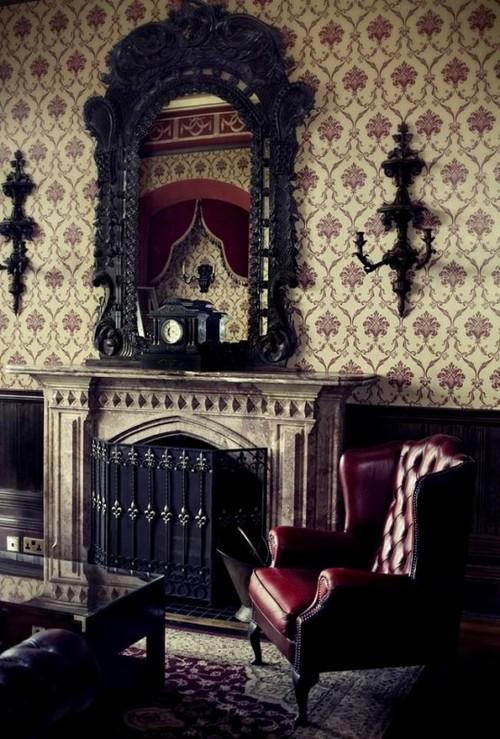 Мебель в готическом стиле фото