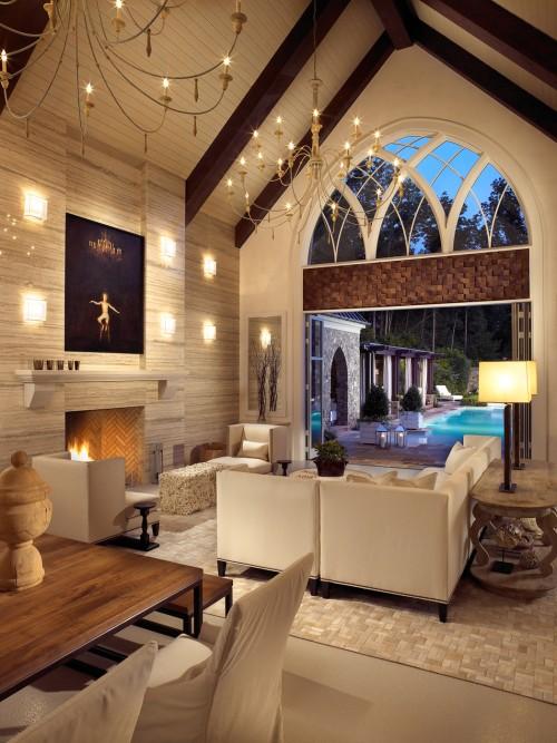 Современный дом в готическом стиле фото