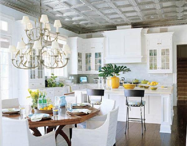 Моющаяся потолочная плитка для кухни