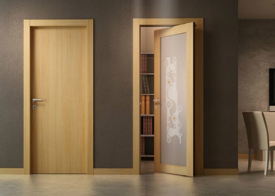 самоклеющиеся обои на дверь